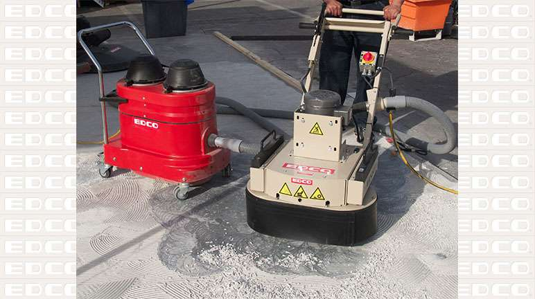 edco magna trap 2ec-ng concrete floor grinder - wedgeless electric