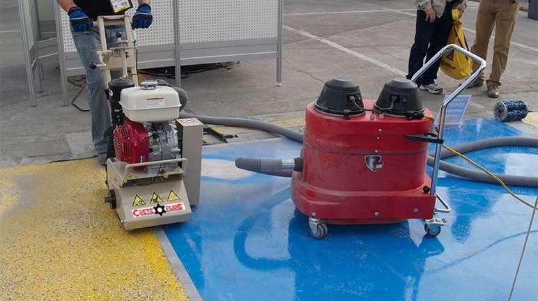 Edco vortex 200 dust vacuum vac 200 ed33125k patriot for Vacuum cleaner for concrete floors