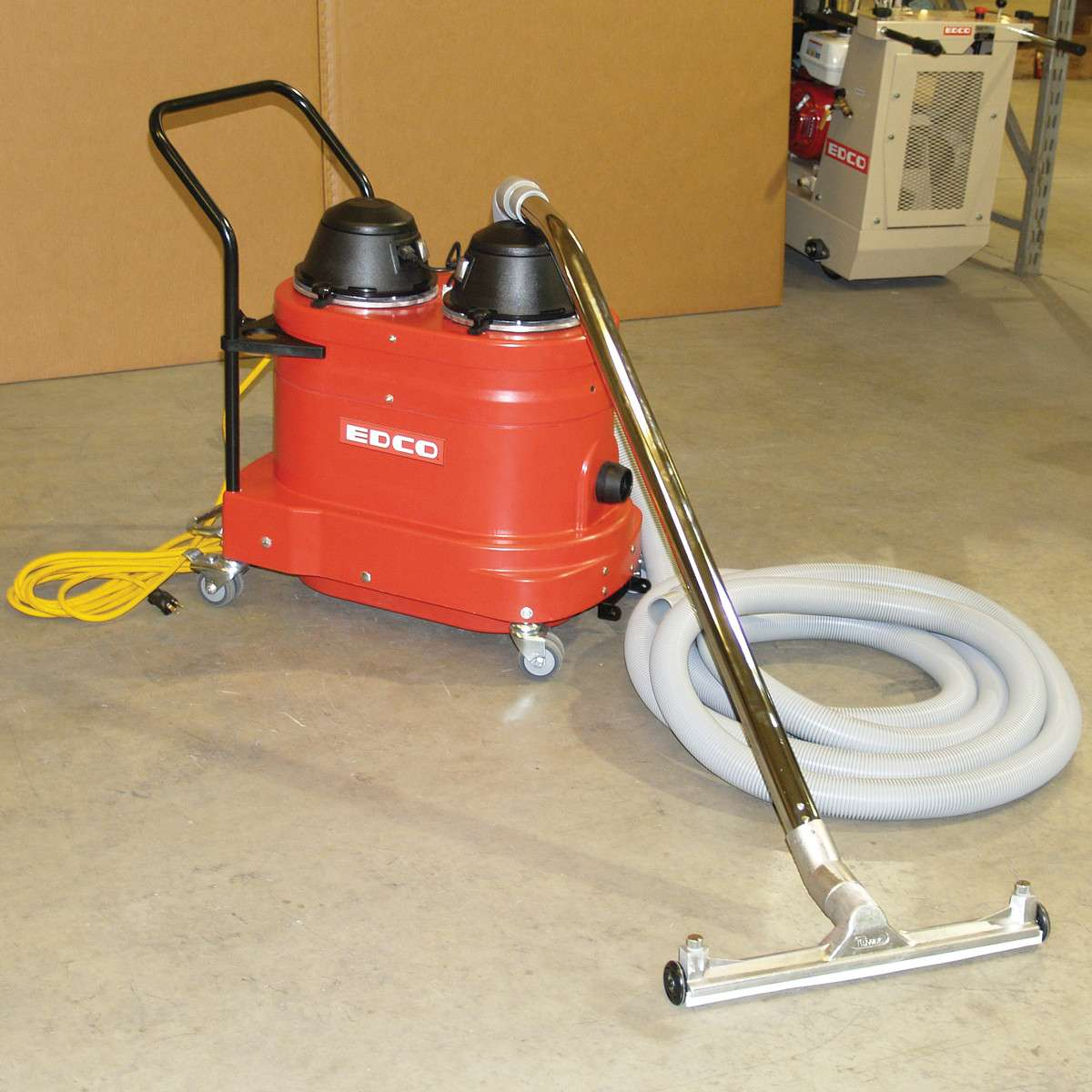 Edco magna trap 2ec ng concrete floor grinder wedgeless for Best vacuum for concrete floors