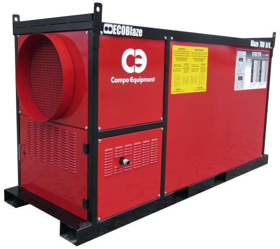 Campo Equipment EcoBlaze 700D-G