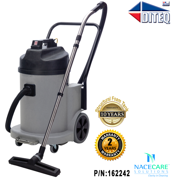 Nacecare Dry Fine Dust 12 Gal Vacuum NDD900