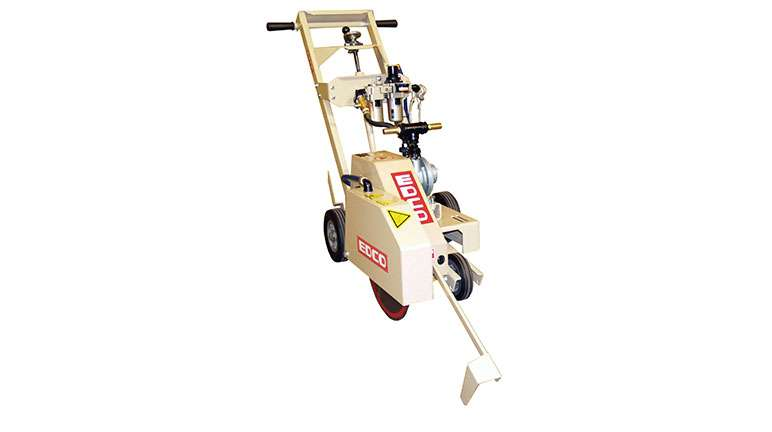 Edco Asb 14 14 Quot Upcut Air Powered Walk Behind Saw 47200