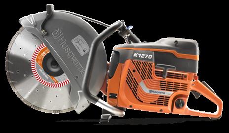 Husqvarna K1270 Power Cutter/Cut-Off Saw #967046201 | Patriot Contractors  Equipment