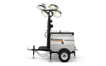Generac Magnum Mlt4150 Light Tower With 15kw Generator